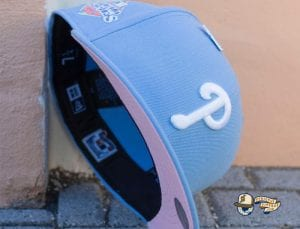 Fam Cap Store Exclusive MLB Sky Blue 59Fifty Fitted Cap Collection by MLB x New Era Phillies