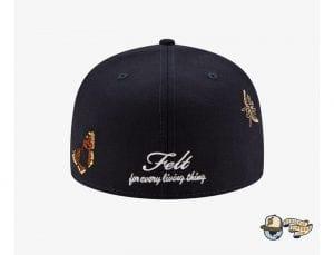 Felt MLB 59Fifty Fitted Cap Collection by Felt x MLB x New Era Back