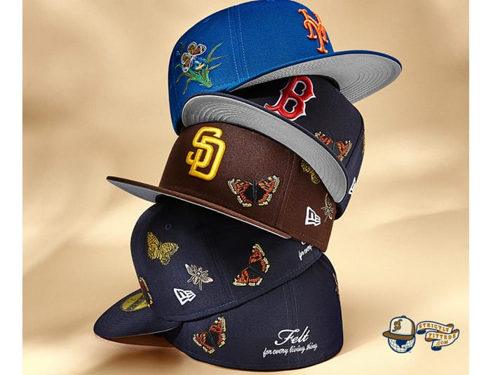 Felt MLB 59Fifty Fitted Cap Collection by Felt x MLB x New Era