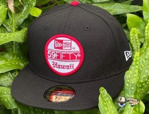 Flagship Hawaii Black Red 59Fifty Fitted Cap by 808allday x New Era