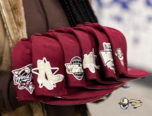 Hat Club Exclusive Beanpot Pack MLB 59Fifty Fitted Hat Collection by MLB x New Era Side