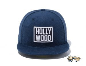 Hollywood 59Fifty Fitted Cap by New Era Navy