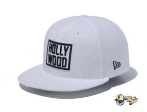 Hollywood 59Fifty Fitted Cap by New Era White