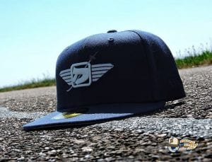 Maverick Oceanside Blue 59Fifty Fitted Hat by Dionic x New Era Left