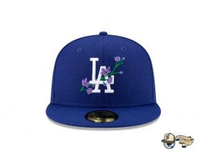 MLB Side Patch Bloom 59Fifty Fitted Cap Collection by MLB x New Era Dodgers