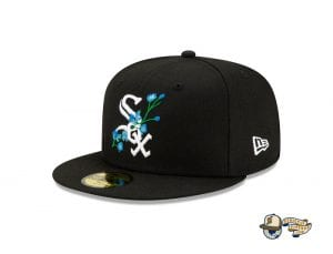 MLB Side Patch Bloom 59Fifty Fitted Cap Collection by MLB x New Era WhiteSox
