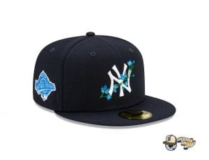 MLB Side Patch Bloom 59Fifty Fitted Cap Collection by MLB x New Era Yankees