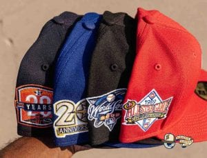 MLB Variety Pack 59Fifty Fitted Hat Collection by MLB x New Era Patch