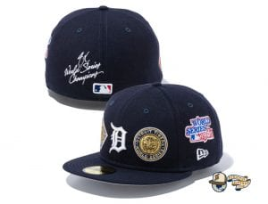 MLB World Champions 59Fifty Fitted Cap Collection by MLB x New Era Tigers