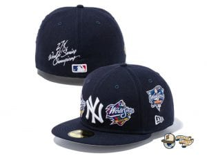 MLB World Champions 59Fifty Fitted Cap Collection by MLB x New Era Yankees