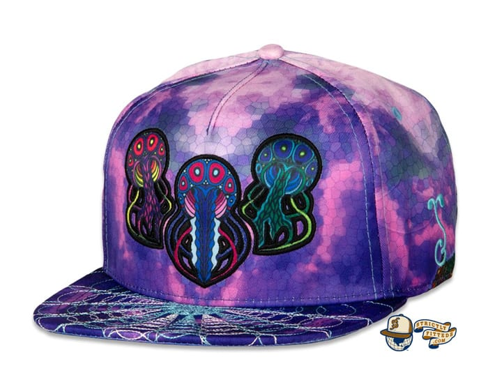 Phil Lewis Jellyfish V2 Fitted Hat by Phil Lewis x Grassroots
