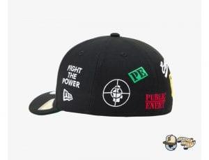 Public Enemy 59Fifty Fitted Cap by Public Enemy x New Era Back
