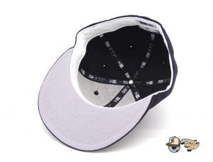 Ruff Ryders Ent Navy White 59Fifty Fitted Cap by Ruff Ryders x New Era Bottom