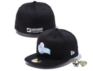 Surfrider Foundation 59Fifty Fitted Cap Collection by Surfrider Foundation x New Era Black