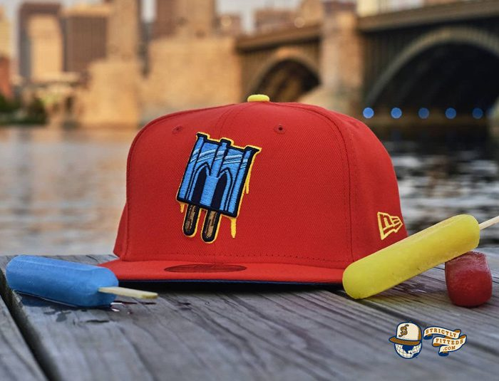 Brooklyn IceBallers Pop Night 59Fifty Fitted Hat by Dionic x New Era