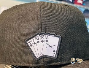 Crossed Bats Poker Special Edition 59Fifty Fitted Cap by JustFitteds x New Era Back