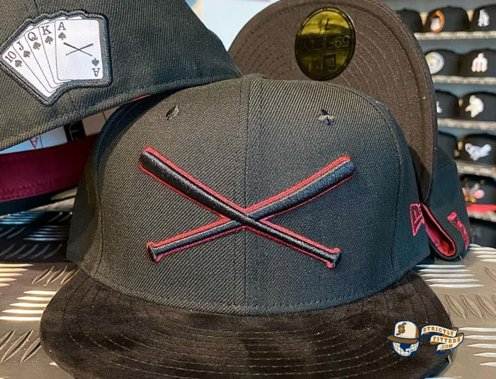 Crossed Bats Poker Special Edition 59Fifty Fitted Cap by JustFitteds x New Era