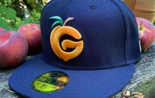Hat Club Hockey League Georgia Peaches 59Fifty Fitted Hat by Hillside Goods x New Era