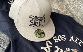 Hi Kam Khaki 59Fifty Fitted Hat by 808allday x New Era