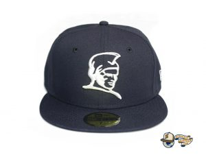 Kamehameha Navy Woodland Camo 59Fifty Fitted Hat by Fitted Hawaii x New Era