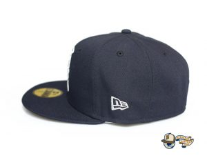 Kamehameha Navy Woodland Camo 59Fifty Fitted Hat by Fitted Hawaii x New Era Side