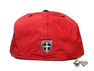 Kamehameha Red Nylon White 59Fifty Fitted Cap by Fitted Hawaii x New Era Back