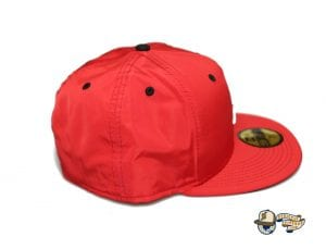 Kamehameha Red Nylon White 59Fifty Fitted Cap by Fitted Hawaii x New Era Right