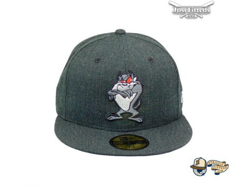Looney Tunes Taz Black Heather 59Fifty Fitted Hat by Looney Tunes x New Era