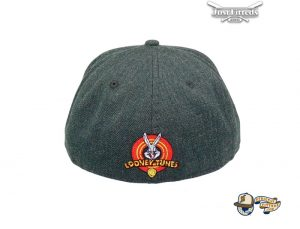 Looney Tunes Taz Black Heather 59Fifty Fitted Hat by Looney Tunes x New Era Back