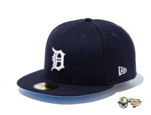 MLB Icy Side Patch 59Fifty Fitted Cap Collection by MLB x New Era Tigers