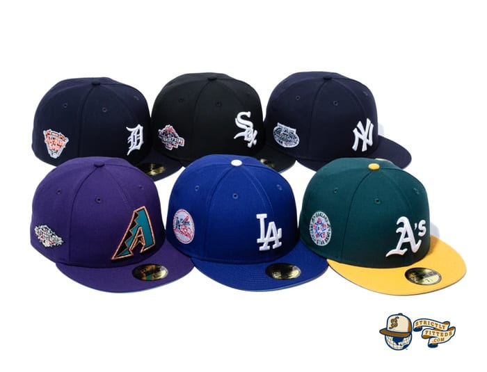 MLB Icy Side Patch 59Fifty Fitted Cap Collection by MLB x New Era