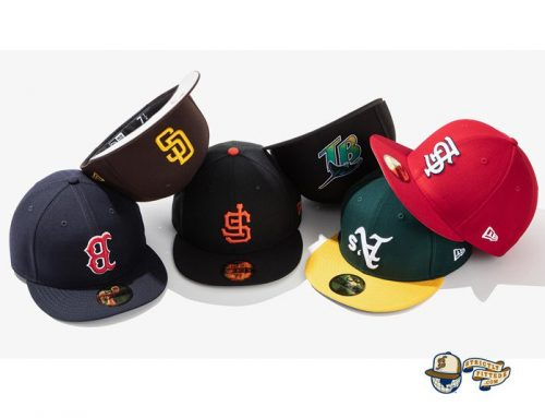 MLB Upside Down Logo 59Fifty Fitted Hat Collection by MLB x New Era