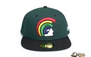 Mua Dark Green Black 59Fifty Fitted Cap by Fitted Hawaii x New Era