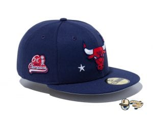 NBA Americana 59Fifty Fitted Cap Collection by NBA x New Era Bulls
