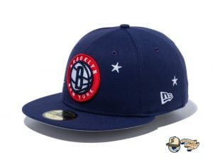 NBA Americana 59Fifty Fitted Cap Collection by NBA x New Era Nets