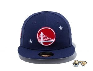 NBA Americana 59Fifty Fitted Cap Collection by NBA x New Era Warriors