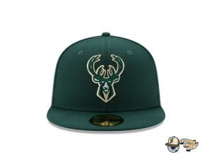 NBA Authentics 2021 Finals 59Fifty Fitted Cap Collection by NBA x New Era Bucks