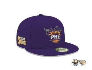 NBA Authentics 2021 Finals 59Fifty Fitted Cap Collection by NBA x New Era Suns