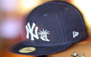 New York Yankees Statue Of Liberty 59Fifty Fitted Cap by MLB x New Era