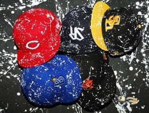 Nippon Professional Baseball Splash Paint 59fifty Fitted Cap Collection by NPB x New Era