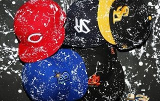 Nippon Professional Baseball Splash Paint 59fifty Fitted Cap Colleciton by NPB x New Era