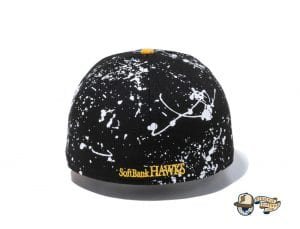 Nippon Professional Baseball Splash Paint 59fifty Fitted Cap Collection by NPB x New Era Back