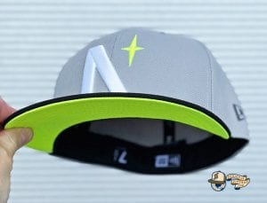 North Star Grey Black 59Fifty Fitted Cap by Noble North x New Era Volt