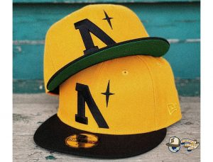North Star Heritage 59Fifty Fitted Cap by Noble North x New Era Gold