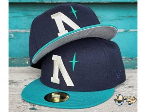 North Star Heritage 59Fifty Fitted Cap by Noble North x New Era Navy