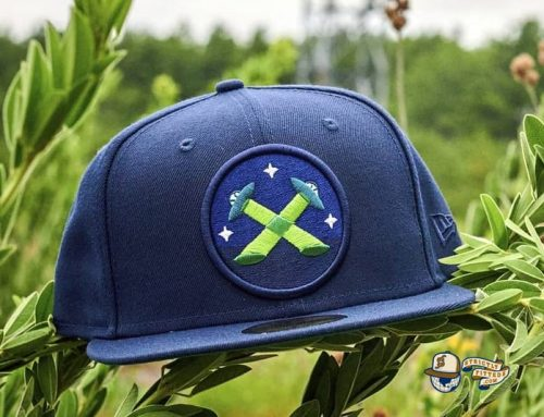 The Xtras Wordmark 59Fifty Fitted Hat by Dionic x New Era