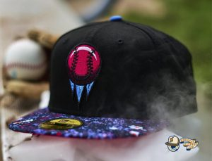 Brooklyn IceBallers Black Splatter 59Fifty Fitted Hat by Dionic x New Era