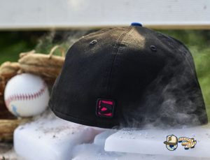 Brooklyn IceBallers Black Splatter 59Fifty Fitted Hat by Dionic x New Era Back