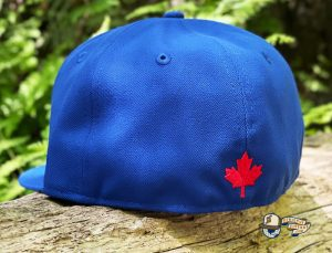 Canada Badge Royal Dark Green 59Fifty Fitted Hat by Noble North x New Era Back