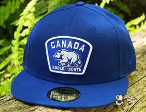 Canada Badge Royal Dark Green 59Fifty Fitted Hat by Noble North x New Era Royal